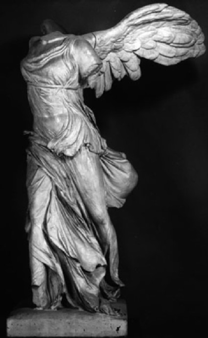 Cast of the Nike of Samothrace