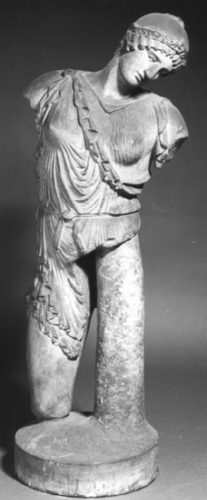 Cast of a small statue of an Amazon from Virunum