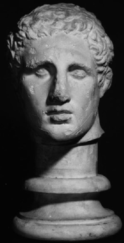 Cast of the head of Agias