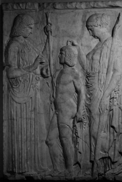 Cast of the Great Eleusinian Relief