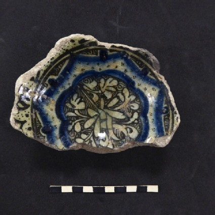 Fragment with petalled medallion
