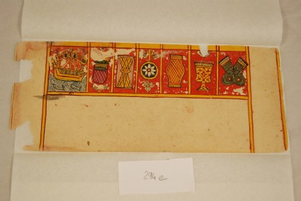 Row of seven auspicious symbols