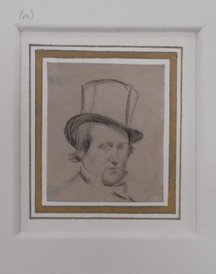 Head of a Man in a Top-hat