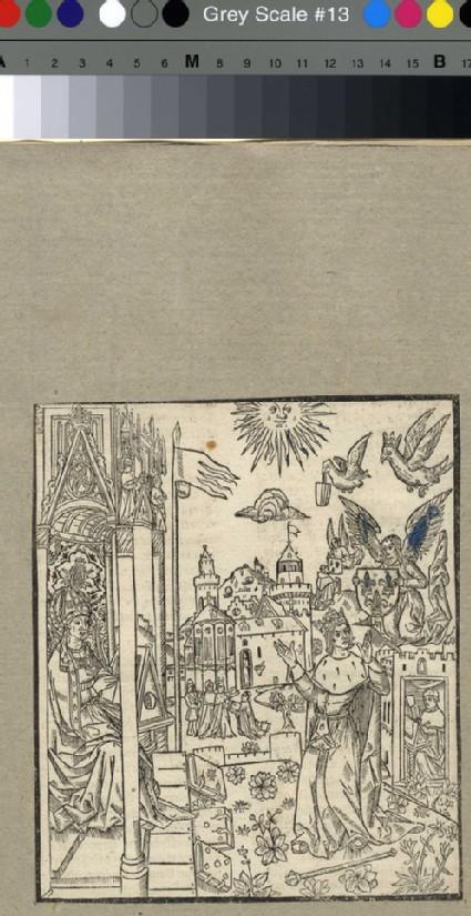 King Charles V of France and St Augustine