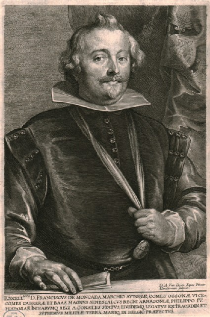 Portrait of Francisco de Moncada, Marqués de Aytona