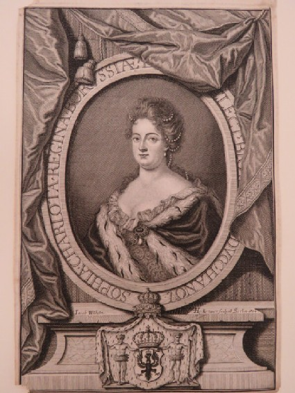 Portrait of Sophie Charlotte of Prussia