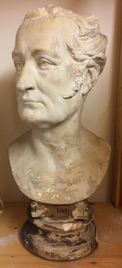 Bust portrait of the 11th Earl of Pembroke