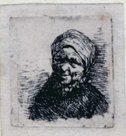 Bust of a peasant
