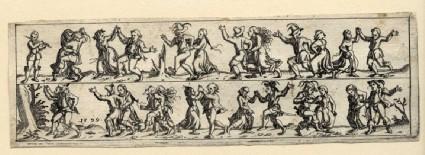 Dancing farmers