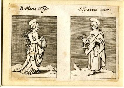 Blessed Mary Magdalene and Saint John Evangelist