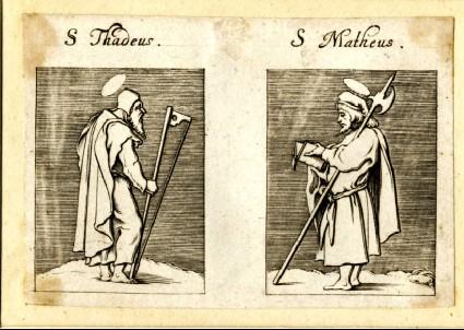Saint Thaddeus and Saint Matthew