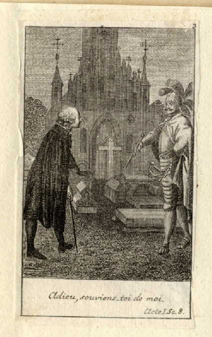 Hamlet with his father's ghost