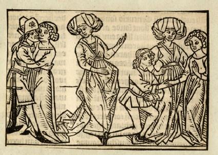Recto: Aemilia Tertia and Scipio<br />Verso: letterpress