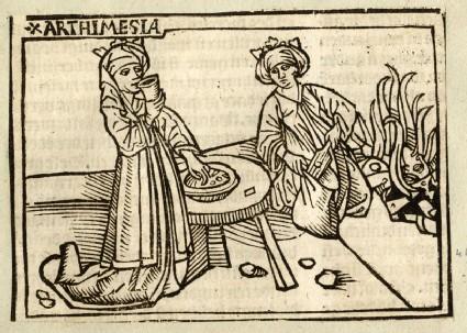 Recto: Artemisia Queen of Caria<br />Verso: letterpress