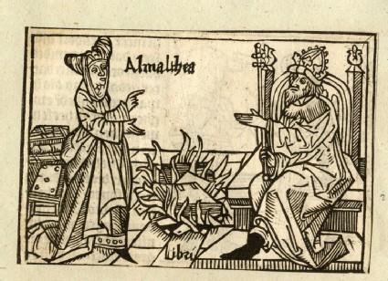 Recto:Amalthea<br />Verso: letterpress
