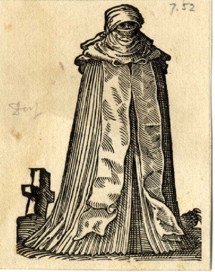 A noblewoman from Meissen in mourning