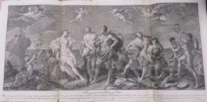 Bacchus finding Ariadne deserted on Naxos