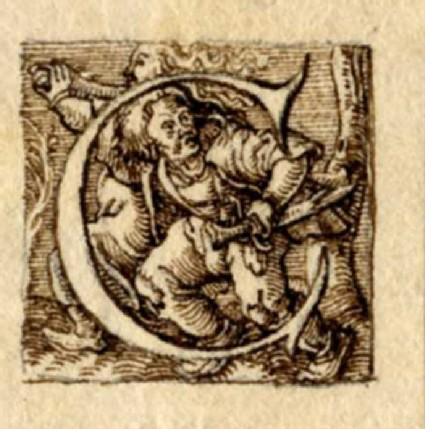 Initial alphabet letter C