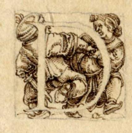 Initial alphabet letter D