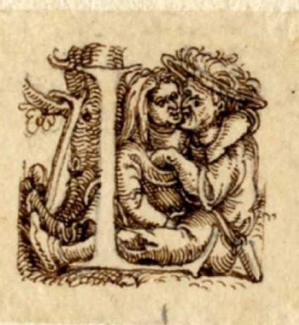 Initial alphabet letter L