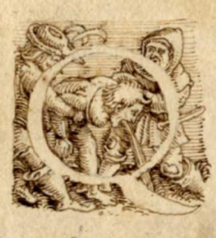 Initial alphabet letter Q