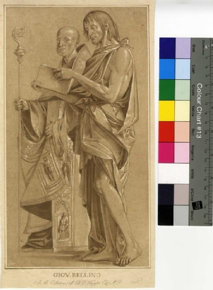 Saint John the Baptist and Saint Benedict