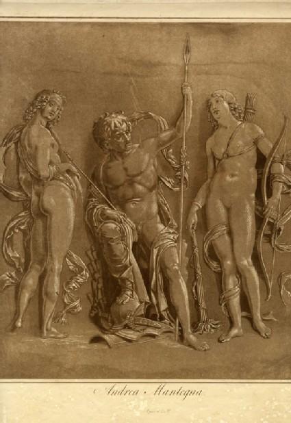 Mars, Diana and Iris