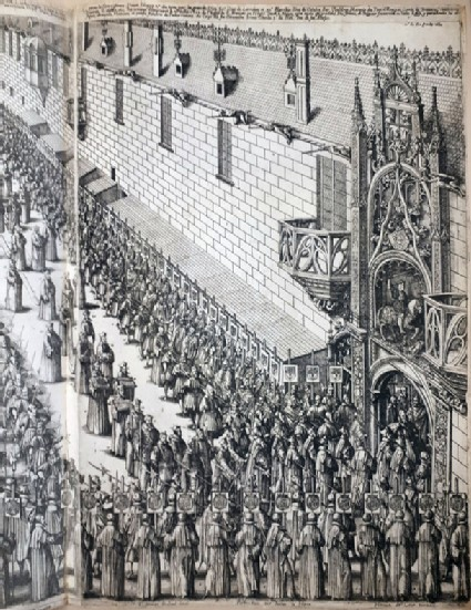 Plate 10: The funeral of Charles III of Lorraine