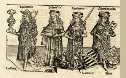 The belligerent kings of the Holy Roman Empire
