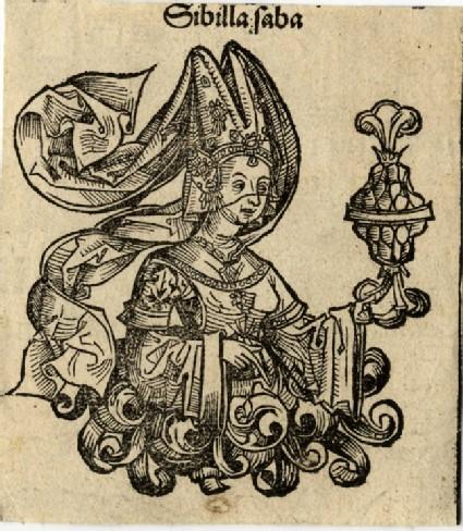 Recto: Fragment of England<br />Verso: Sibyl Saba