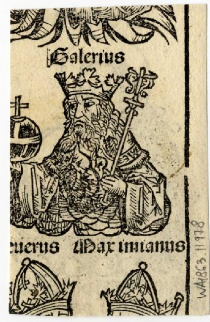 Recto: Maximianus of Ravenna<br />Verso: Saint Christina