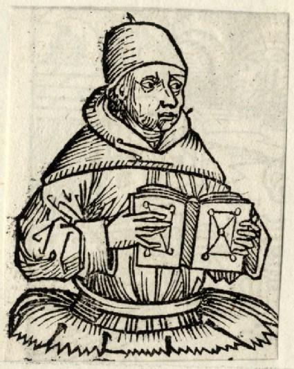 Churchman with a book