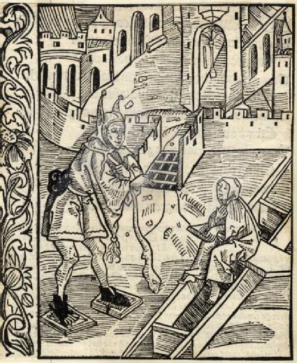 Recto: Disdain of the Holy Scriptures<br />Verso: Letterpress