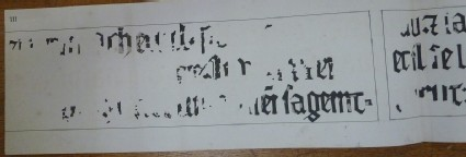 An Inscription copied from the Walls of the Painted Chamber