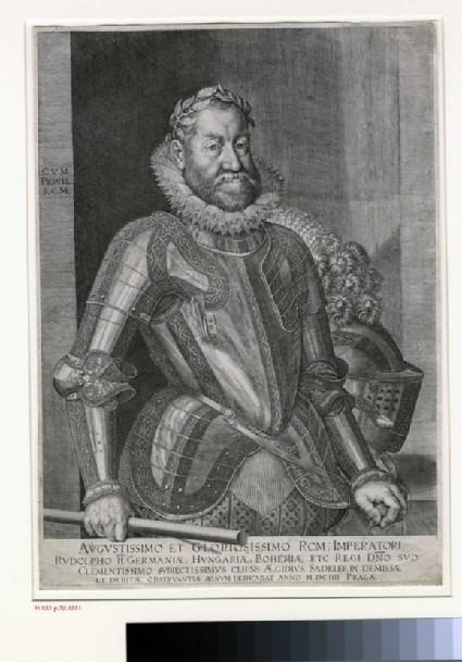Portrait of Emperor Rudolph II