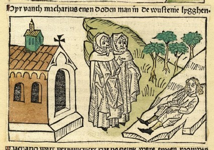 Two hermits and a dead man