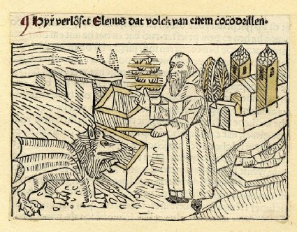 A clergyman and a creature