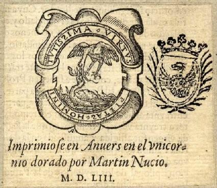 Printer's device of Martinus Nutius