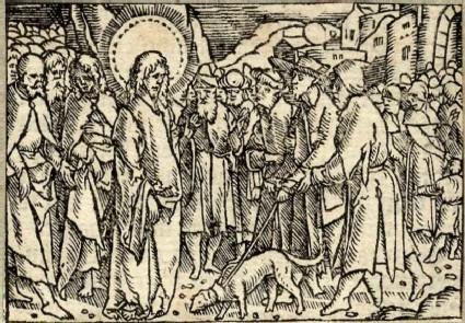 Healing two blind men in Galilee