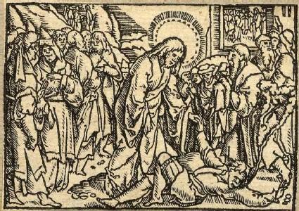 Jesus exorcises a boy