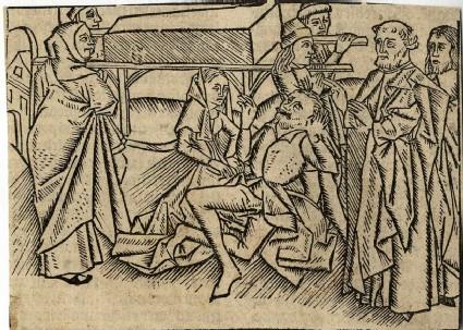 Jesus raises the widow's son at Nain