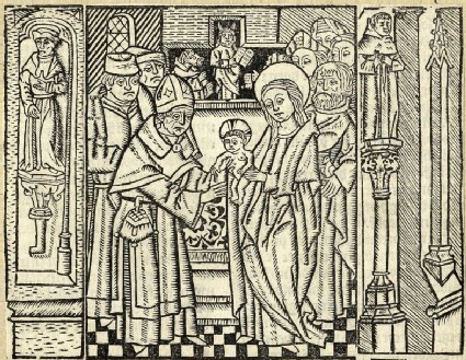 The Presentation of Jesus at the Temple