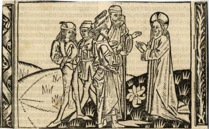 Jesus teaches Nicodemus