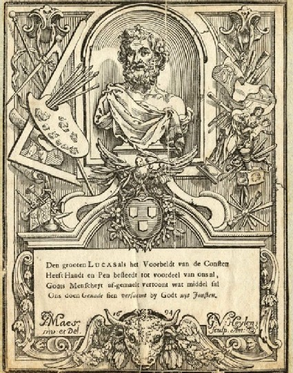 Bust of St Luke