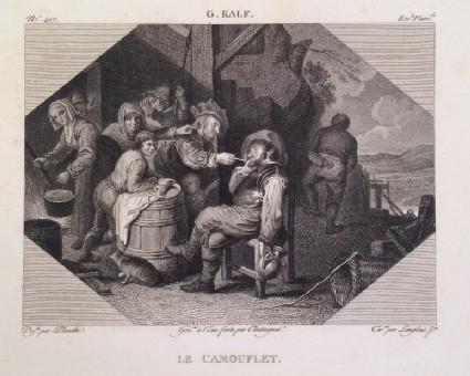Plate 417: Le Camouflet, from Vol. 6 of the 'Galerie du Musée Napoléon'