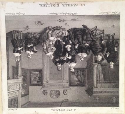 Plate 596: La Famille d'Ostade, from Vol. 9 of the 'Galerie du Musée Napoléon'