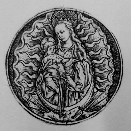 The Virgin and the Child in Glory