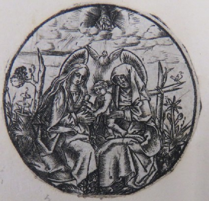 The Virgin and St Anne with the Child