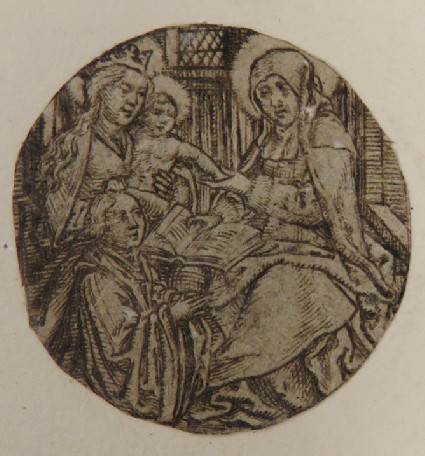 The Virgin and the Child with St Anne