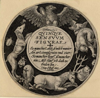 Frontispiece to the Five Senses
